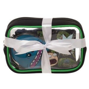 56546c0109 Innovative Viral Trends (Bioworld) Bags - Rick   Morty 3 Piece Cosmetic Set